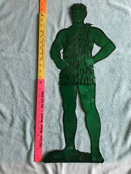 1960's Vintage Jolly Green Giant Cut-out – Ultra Rare, Unique Original