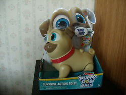 Disney Junior Puppy Dog Pals Surprise Action Rolly Walks And Talks New In Box
