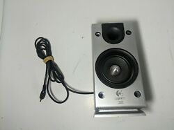 Right Single Replacement Logitech Z-2300 Satellite Speaker With Cable Tested