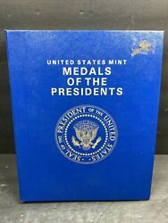 Us Mint Medals Of The Presidents From Washington To Reagan Copper Color Coins