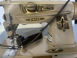 Singer 500a Rocketeer Sewing Machine For Parts Or Repair