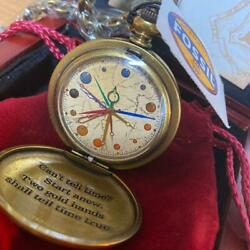 Harry Potter Dumbledore Pocket Watch Serial Number 1900and039s Gold Color Fossil