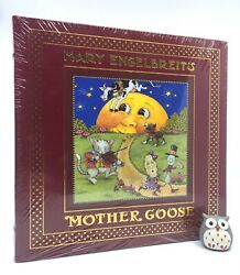 Easton Press Mother Goose Nursery Rhymes Mary Engelbreit Leather Illustrated