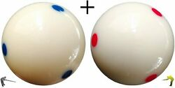 Champion Training Cue Ball For Pool Table Size 2-1/4 57mm And Aim Trainer