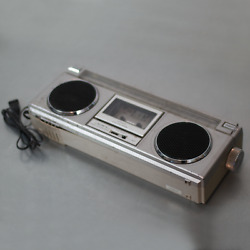 Crown Csc-925f Rare Boombox Ghettoblaster 1980 Made In Japan
