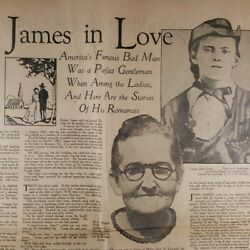 Outlaw Jesse James In Love 1929 Journal Article Marche 12 Bend Oregon Bulletin