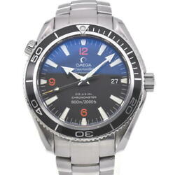 Omega Seamaster Plat Net Ocean 2201.51 Black Dial Automatic Menand039s Watch W105409