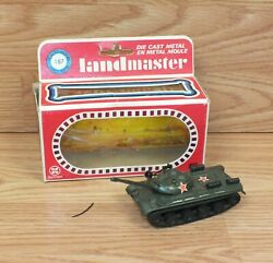 Genuine Zylmex Land Master T404 T10 Js Iii Collectible Tank In Box Read
