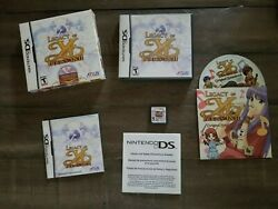 Legacy Of Ys Books I And Ii. Nintendo Ds Cib Music Cd Game Box Complete