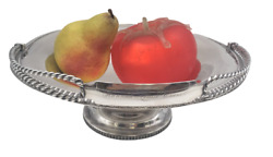 Gale 1853 Sterling Silver Footed Centerpiece Bowl Basket