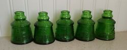 Vintage Green Glass Ink Well, Cape May Bitters Bottle, Wheaton, Nj