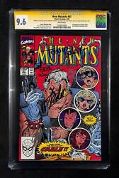New Mutants 87 Cgc 9.6 Signed By Stan Lee