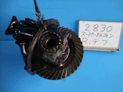 Hino Hino Largesize Car 1991 Rear Rigid Differential Assembly 387 [pasku101861]