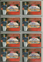 Lot Of Nine — 9 — 2010 Topps Pro Debut Aflac Debut Cuts Ah Aaron Hicks Rc /106