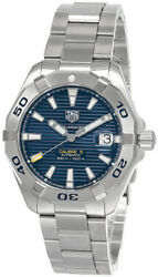 New Tag Heuer Aquaracer 41mm Auto Blue Dial Menand039s Watch Wbd2112.ba0928