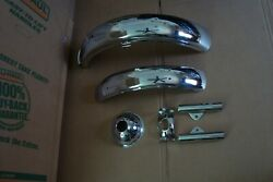 Suzuki Ts90 Tc90 Show Set We Will Separate Green Fenders And + In Stock Look