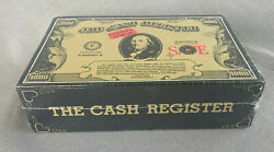 Early 80's The Cash Register Cigar Box--sealed--free Ship