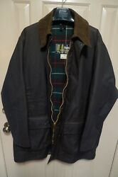 Barbour - A400 Northumbria Wax Cotton Jacket- Brown- Made @ Uk- Vintage- 44