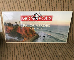 Monopoly Game Palos Verdes Edition Contents Sealed New Sealed