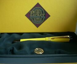 New Parker Duofold Mandarin Fountain Pen - Limited Edition