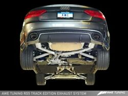 Awe Tuning Fit Audi B8 / B8.5 Rs5 Track Edition Exhaust System