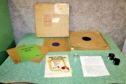Coca Cola Marketing And Promotion Records 15 Items 1935-43 Marketing Material