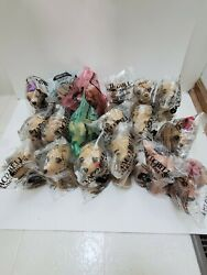 Taco Bell Talking Chihuahua New In Bag 18 Piece Lot 6 Inches Tall