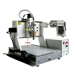 High Z-axis 130mm Cnc Router 3040 Wood Aluminum Metal Engraving Milling Machine