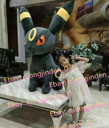 43and039and039 Anime Giant Umbreon Plush Skin Toy Eevee Doll Case Plushie Cover No Stuffed