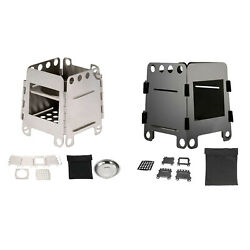 Ultralight Wood Burning Stove Outdoor Camping Firewood Stove Cooking Burner