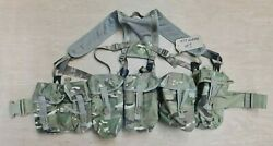 British Army Issue Mtp Multicam Plce Camo Webbing Belt Vest With Pouches 1