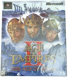 Age Of Empires 2 Ii The Age Of Kings Pc Factory Sealed Authentic
