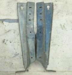 1946 1947 1948 Ford Radiator Core Support Brackets Original Pair Flathead V8 And03942