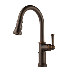 Brizo Artesso Pull-down Kitchen Faucet W/on/off Touch Activation Venetian Bronze
