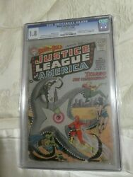 Dc Comics Brave And The Bold 28 Cgc 1.8 1st Justice League Wonder Woman 1960