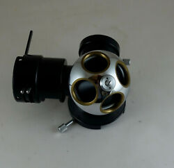 Microscope Part Carl Zeiss West Germany Turret Photo Microscope Reflected Light