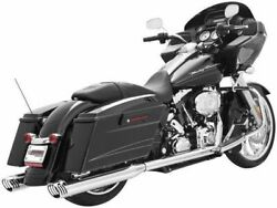 Freedom Performance Racing Dual Exhaust For Harley-davidson Flh, Flt 1995-2008