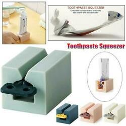 Creative Plastic Toothpaste Tube Squeezer Easy Dispenser Rolling Holders Home