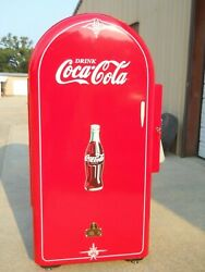 Vintage Rare 1940and039s Jacobs The Mailbox Coke Machine Great Man-cave Addition