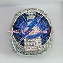 In Stock 2020 Tampa Bay Lightning Stanley Cup Champions Ring