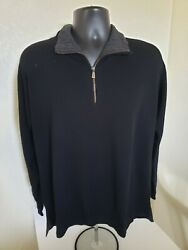 1799 Loro Piana Mens Classic Cashmere Sweater Made In Italy Nwd Size 50