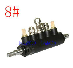 Coat Tire Changer Machine Foot Pedal Air Control Valve Metal 8mm 8 Connector