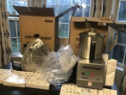 Robot Coupe R401 1 Speed Continuous Feed Food Processor W/ 4 1/2 Qt Bowl 120v