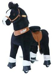Official New Updated 2021 Edition Ride On Horse Toy Plush Walking Animal