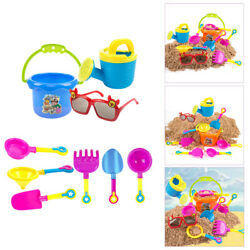 9pcs Sand Beach Toy Molds Activity Play Set Water Prop Summer Toys Outdoor $9.85