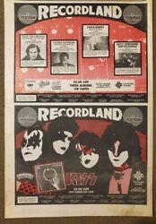 Kiss Scene Magazine . Very Unique Ad , In This Paper One Time Only In 1981