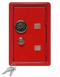 Kidand039s Coin Bank Locker Safe With Single Digit Combination Lock And Key - 7andrdquo
