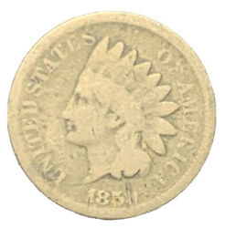 1859 Cn Indian Head Cent, Better Date Coin | Free Shipping 7161