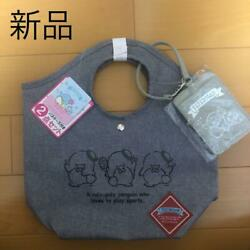 SANRIO TUXEDO SAM BAG WITH PASS CASE 2 SET LOT FROM JAPAN $85.38