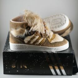 Star Wars X Adidas Rivalry Hi Chewbacca Size 11 Men's Brand New Ds Shoes Fx9290